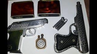Зажигалка пистолет Рога Посылка от подписчика