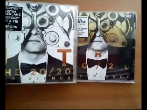 Justin Timberlake - The Complete Experience (Parts 1 & 2) (Unboxings)