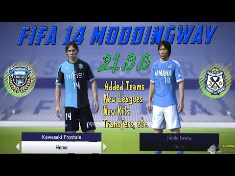 FIFA 14 ☆ ModdingWay 21 0 0 Update ( Added New Tournaments