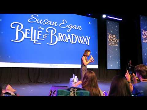 Susan Egan at D23Expo  The Belle of Broadway