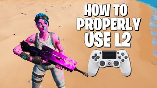 How L2 Spamming Is HURTING Your Controller Aim in Fortnite (Legacy Fortnite Settings)
