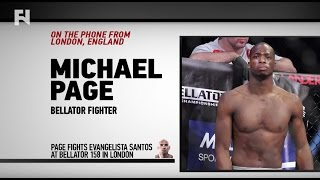 "Video Michael Page on Bellator 158: London & Evangelista ""Cyborg"" Santos - ""I'm Ready For Anybody Now"" download MP3, 3GP, MP4, WEBM, AVI, FLV September 2018"