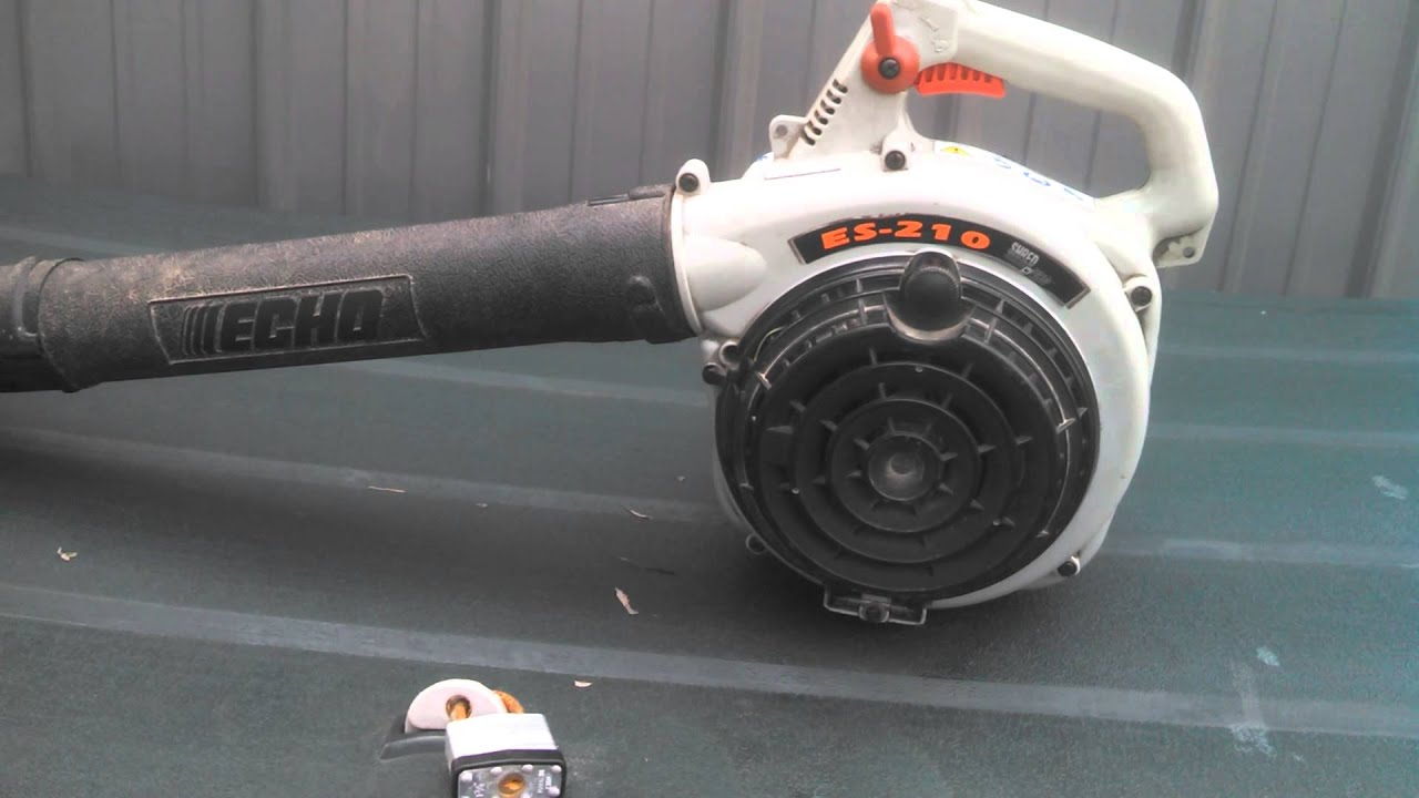 Echo Blower Vacuum : Echo es leaf blower another freebie youtube