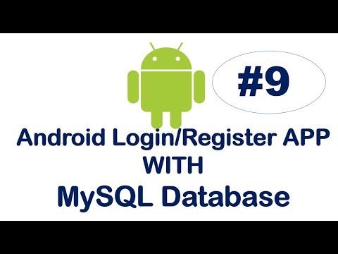 Android Login/Register App with MySQL-09- Registration Coding  -2