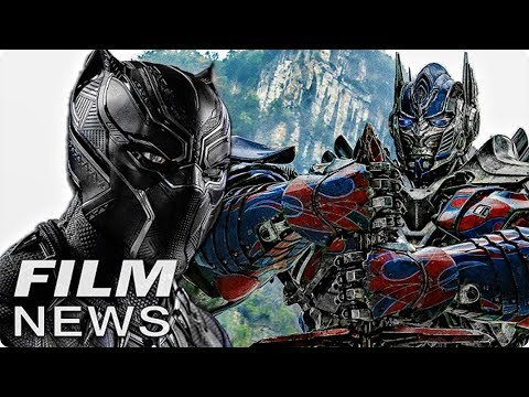 BLACK PANTHER rockt die Kinoka$$en & TRANSFORMERS Reboot - FILM NEWS