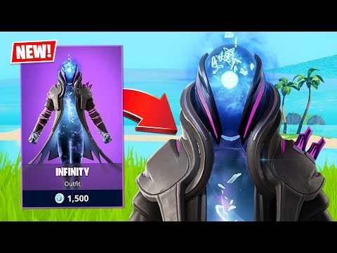 New Infinity Skin! (Fortnite Battle Royale)