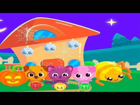 Cute & Tiny Halloween Divertido y Barcos | Videos Infantiles