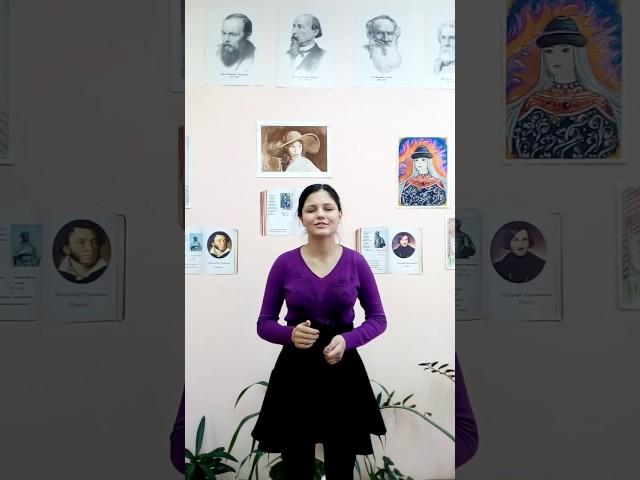 Изображение предпросмотра прочтения – ДарьяХарина читает произведение «Родина (Люблю отчизну я, но странною любовью…)» М.Ю.Лермонтова