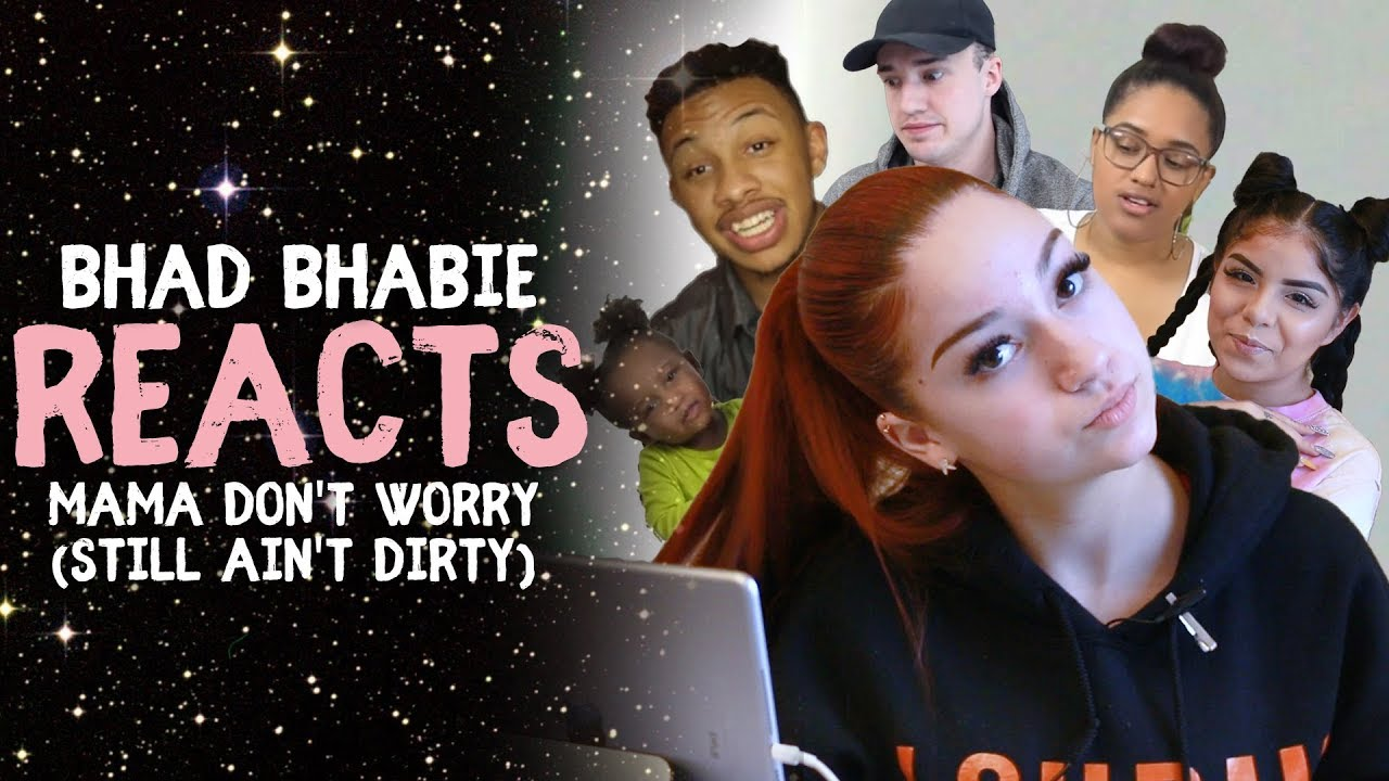 """Danielle Bregoli reacts to BHAD BHABIE """"Mama Don't Worry (Still Ain't Dirty)"""" roasts & reaction vids"""