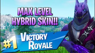 Max Level Hybrid Skin!! 11 Elims!! - Fortnite: Battle Royale Gameplay