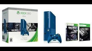 Limited Edition: Walmart Exclusive (500gb) Blue Xbox 360 E bundle