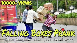 Box Falling Prank | Box Dropping Prank | Prank In India | Prankholic |