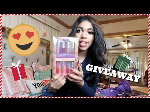 Download Youtube: HOLIDAY GIVEAWAY 2017!! VLOGMAS DAY 6