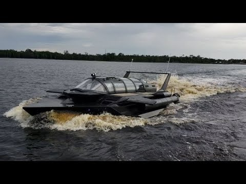 Hyper-Sub Is an Insane Navy-Approved Speedboat-Submarine and We Want One