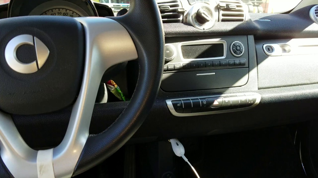 Smartcar Cigarette Lighter Fuse Location