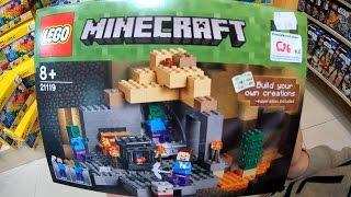 LEGO MINECRAFT Дамир кумир и вырванный зуб