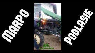 Odpalanie ciągnika w -10°C ☆ 2018 ☆ Fendt 4S  || MARPO Podlasie ||
