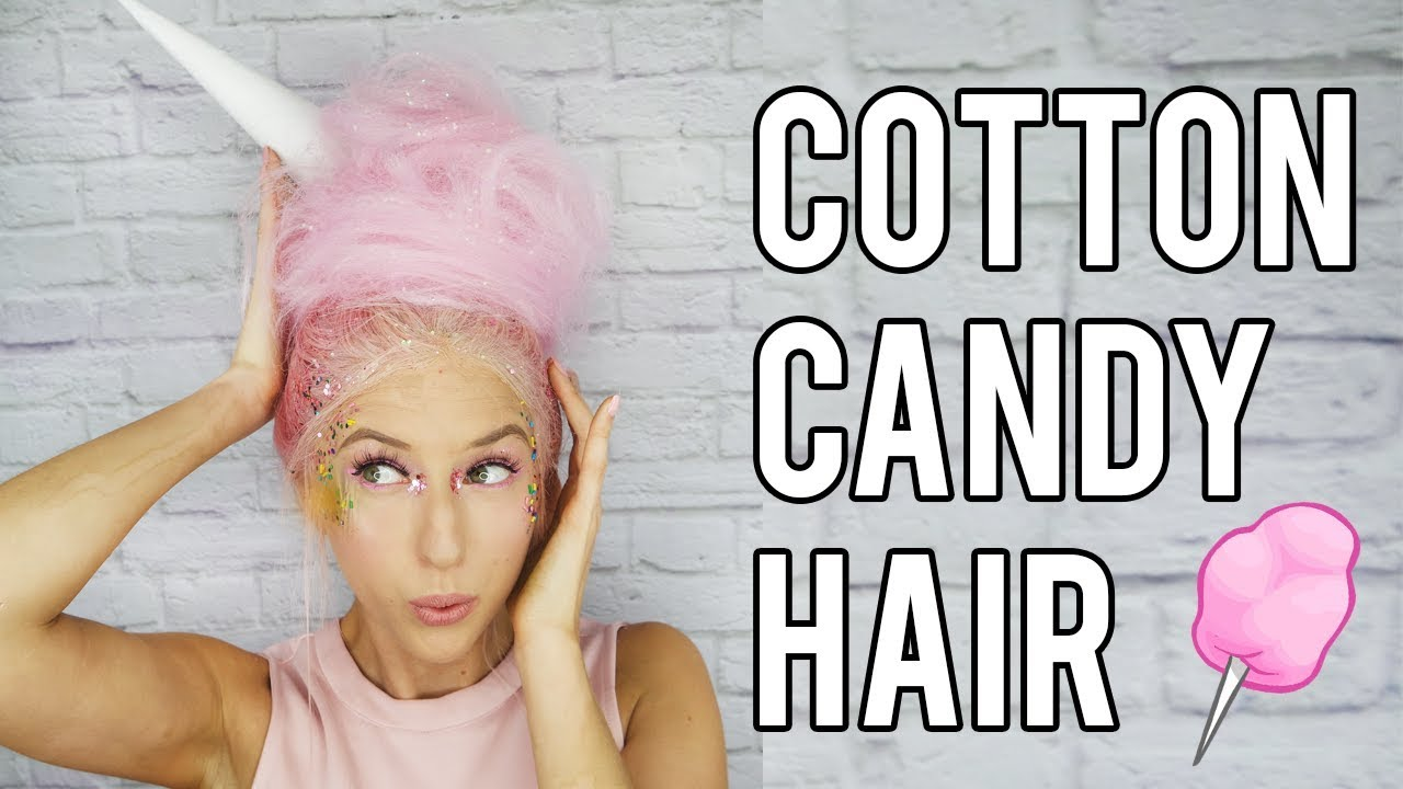 Diy Cotton Candy Hair Costume