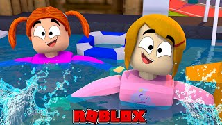 Roblox Roleplay - Baby Alive Swimming With Molly & Daisy!