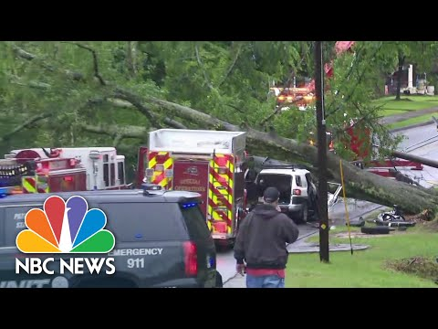 Atlanta Metro Area Under Tornado Watch After Warnings In City Expire | NBC News NOW