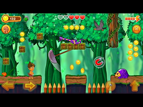 Jungle Run Reloaded - Casual Adventure Platform Games - Videos Games for Kids - Girls - Baby Android
