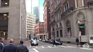 Ryeberg Home Movie: Lunchtime On Milk Street, Boston, MA