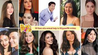 10 Stars who extend help to #UlyssesPH victims | Push Pins