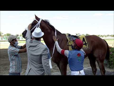 video thumbnail for MONMOUTH PARK 08-30-20 RACE 9 – NJ BREEDERS HANDICAP