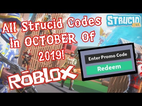 All New Codes In Strucid For October Of 2019 Roblox Youtube