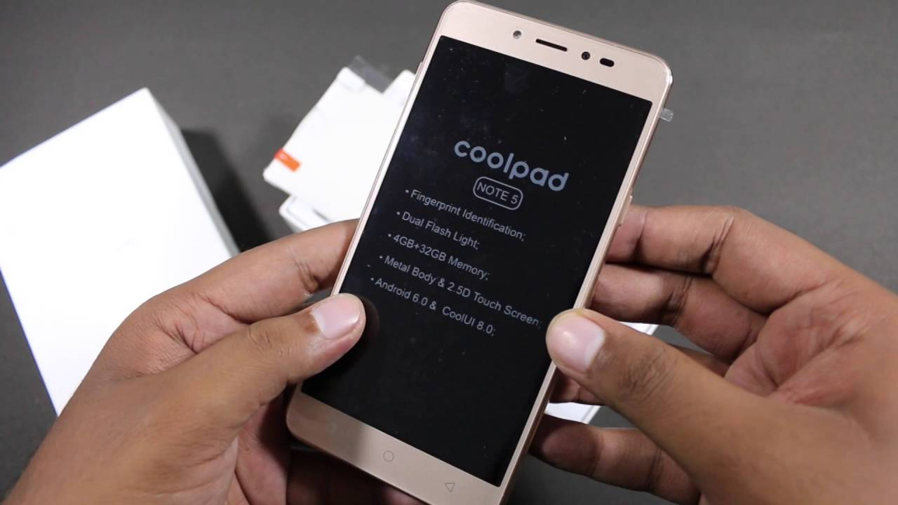 Coolpad Note 5 Price Pakistan, Mobile Specification