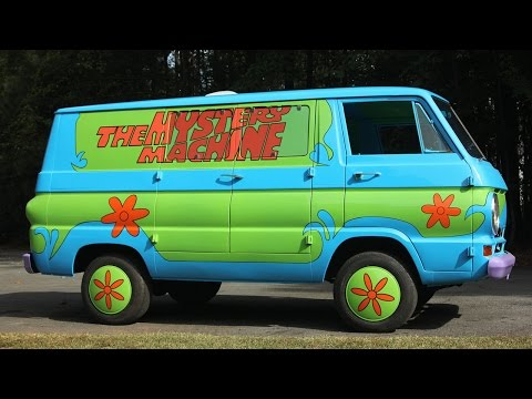 Movie Buff Builds Scooby Doo's 'Mystery Machine' Van