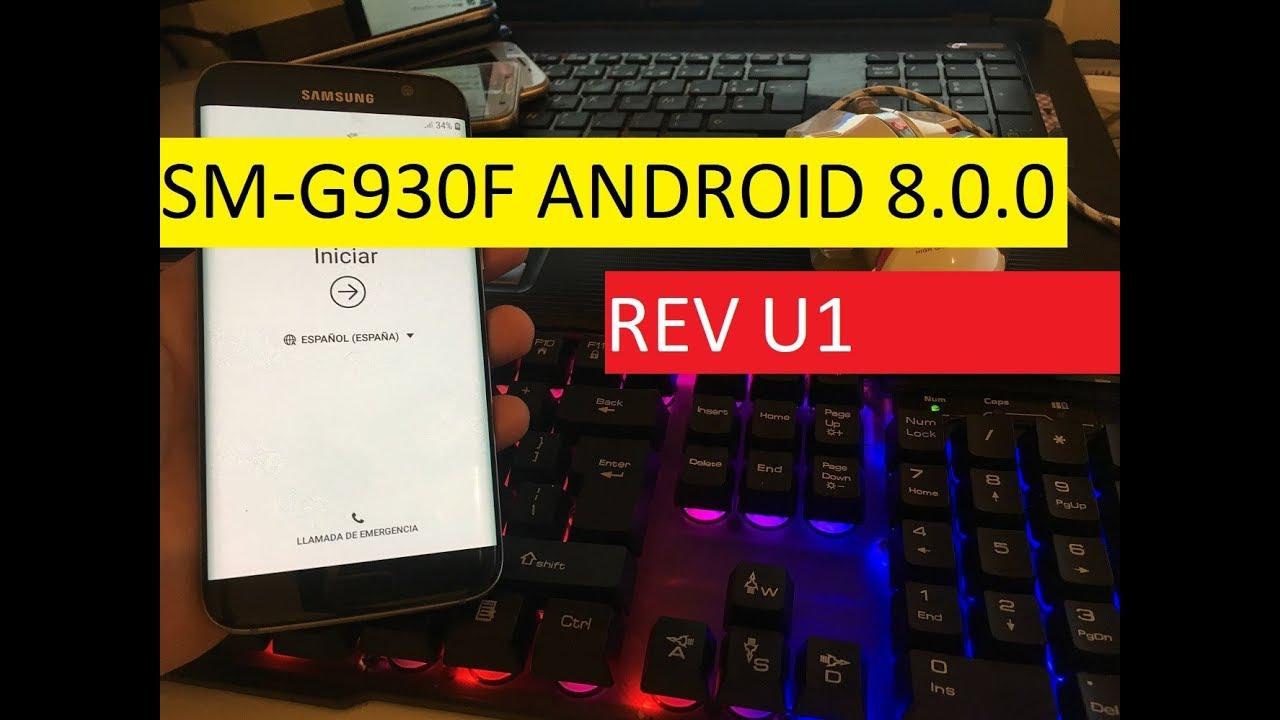 FRP G930F U1 / REMOVE FRP SAMSUNG S7 SM-G930F ANDROID 8 0 0 REV U1 / BYPASS  GOOGLE ACCOUNT S7