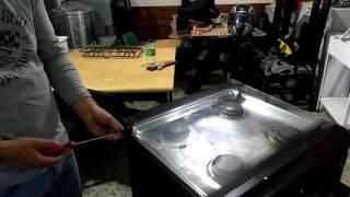 Cocina Mabe procedimiento de desarme #1