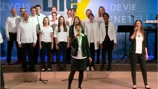 "Chor - ""Shalom Alehchem"" (Marsch des Lebens Konferenz 2017)"