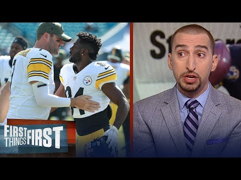 Nick Wright on why the Steelers should trade Antonio Brown | NFL | FIRST THINGS FIRST