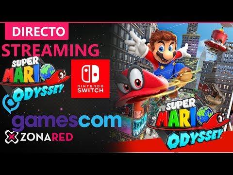 Super Mario Odyssey Nintendo Switch en Gamescom 2017, directo