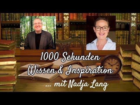 Wie Sie mit Gelassenheit und Souveränität neu starten - Nadja Lang im Interview