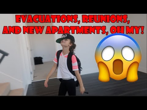 Evacuations, Reunions, and New Apartments, Oh My! 😱 (WK 342.7) | Bratayley
