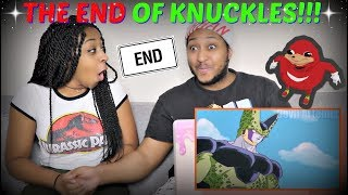 """""""Perfect Cell Vs Ugandan Knuckles Part 4: The End Of The Meme"""" REACTION!!"""