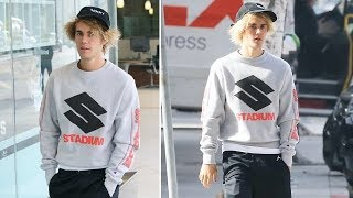 exclusive   justin bieber is turned away from spin class again