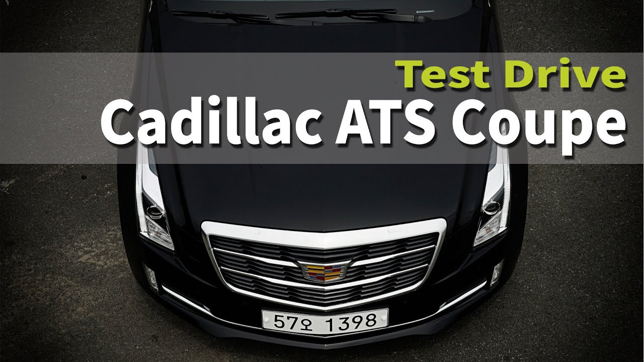 [CarLab/카랩] 캐딜락 ATS쿠페 시승기 2015 Cadillac ATS Coupe TEST DRIVE&REVIEW