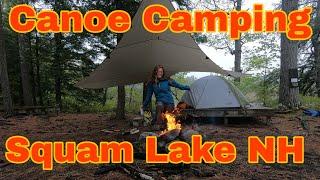 Canoe Camping on Sqขam Lake NH