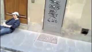 Massimo Ceccherini completamente ubriaco a Firenze - ESCLUSIVO