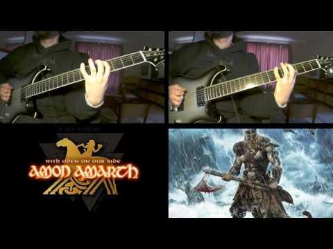 Amon Amarth - PREDICTION OF WARFARE - guitar cover mp3