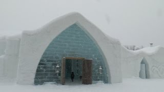 Amazing Vacations: Tour of North America's Only Ice Hotel – Quebec's Hotel De Glace