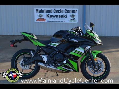 $7,999:  2017 Kawasaki Ninja 650 ABS KRT Edition Overview and Review