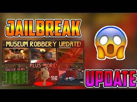 JAILBREAK BRAND *NEW* MUSEUM HEIST UPDATE - new car - new prices - new robbing styles