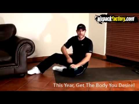 how to make 6 pack abs in home