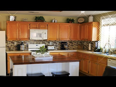 Kitchen Island Countertop Create Your Own Walnut Countertop Enhance Your Kitchen Youtube