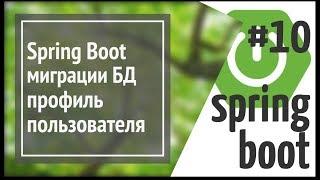 Spring Boot FlyWay: міграції БД, профіль користувача